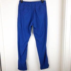 Men's large blue lululemon pants 71% lycra